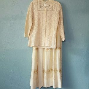 Vintage NWT 3 piece lace dress from Tumbleweeds